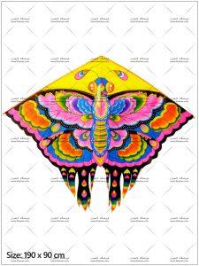 بادبادک دلتا پروانه سایز 4